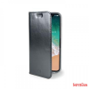 CELLY Air Case iPhone X flip cover, Fekete