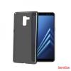 CELLY Galaxy A8 (A530) szilikon hátlap, Fekete