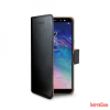 CELLY Samsung A6 oldalra nyiló tok, Fekete