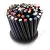 Ceruzák, 5 db, rózsaszín kristállyal,, Crystals from SWAROVSKI®, fekete, (TSWCC210)