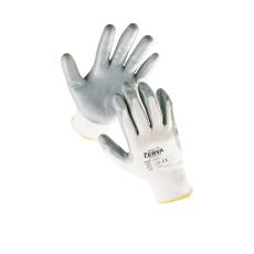 Cerva BABBLER nylon nitril mártott kesztyű - 8