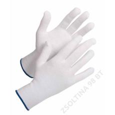 Cerva BUSTARD Evo kötött mikropöttyös kesztyű, fehér