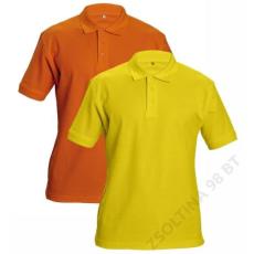 Cerva DHANU tenisz póló, sárga