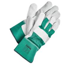 Cerva EIDER kombinált kesztyű zöld - 12 védőkesztyű