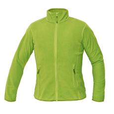 Cerva GOMTI női polár kabát zöldcitrom XXL