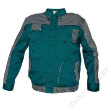Cerva MAX EVO kabát, zöld/szürke