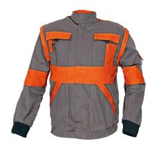 Cerva MAX kabát szürke / narancs 46