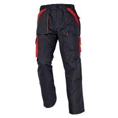 Cerva MAX nadrág fekete/piros 54