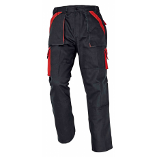 Cerva MAX nadrág fekete/piros 58