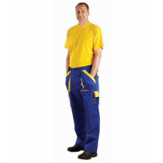 Cerva MAX nadrág kék/sárga 62