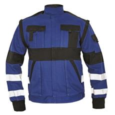 Cerva MAX REFLEX kabát kék/fekete 48