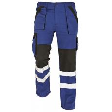 Cerva MAX REFLEX kertésznadrág kék/fekete 58