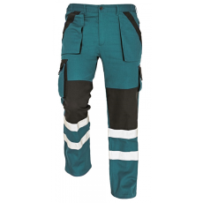 Cerva MAX REFLEX nadrág zöld/fekete 44