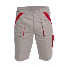 Cerva MAX rövidnadrág szürke/piros 50