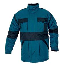 Cerva MAX téli kabát párnázott zöld/fekete M