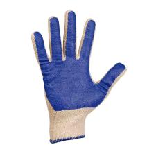 Cerva SCOTER pamut kék PVC mártott kesztyű - 9 védőkesztyű