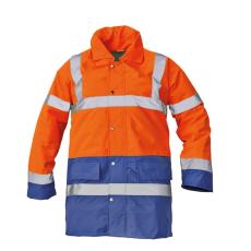 Cerva SEFTON kabát HV narancssárga/royal M