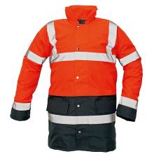 Cerva SEFTON kabát HV piros/navy XXXL
