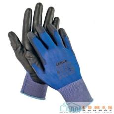 Cerva SMEW fekete kesztyű nylo kék/fekete 10