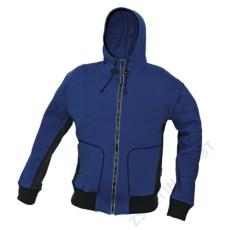 Cerva STANMORE pulóver kapucnival, kék