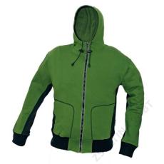 Cerva STANMORE pulóver kapucnival, zöld