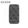Cg mobile Samsung Galaxy S4 VE (GT-I9515) GUESS 4G műanyag telefonvédő (fedél, flip, oldalra nyíló) SZÜRKE