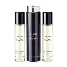 Chanel Bleu - Eau De Parfum (3x20 ml) kozmetikai ajándékcsomag