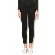 Cheap Monday , Mid Spray skinny farmernadrág, Fekete, W24-L25 (0264957-BLACK-W24-L25)