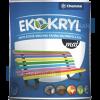 Chemolak Ekokryl Univerzális Matt Akrilfesték v2045 (Barna) - 0,6 L.