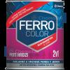 Chemolak Ferro Color 2:1 Oldószeres, Selyemfényű Zománcfesték (Sötét Szürke) - 2,5 L.
