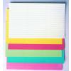 Címke papír (több méretben,színben)