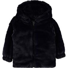 Civil Éjkék szőrös kabát