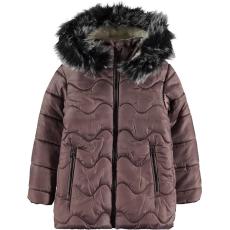 Civil Hullámos kakaó kabát