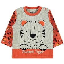 Civil Tigrises narancs-szürke pulóver gyerek pulóver, kardigán