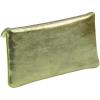 Clairefontaine bőr tolltartó 22x11 cm, lapos, zöld