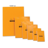 Clairefontaine Rhodia Classic narancs spirálblokk Mérete: 14 8x21cm kockás