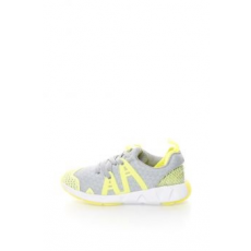 Clarks , Luminous Sneakers Cipő, Szürke/Neon sárga, 28 EU (Luminous-Run-Inf-Grey-Combi-10)