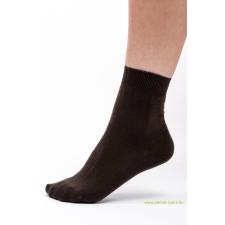 Classic pamut zokni 5 pár - barna 37-38 női zokni