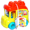 Clemmy My Soft World - Iskolabusz építőkockákkal
