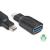 CLUB3D USB 3.1 Type C - USB 3.0 Type A adapter (CAA-1521)