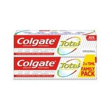 Colgate Total original fogkrém 2 drb fogkrém