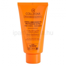 Collistar Sun Protection védőkrém napozásra SPF30 naptej, napolaj