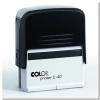 "COLOP Bélyegző, COLOP ""Printer C 40"", fekete cserepárnával"