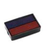 """COLOP Bélyegző cserepárna, 2 db/bliszter, COLOP """"E/10/2"""", piros-kék (IC01113422)"""