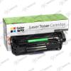 ColorWay Toner CW-H283EUX, 2200 oldal, Fekete - HP CF283X (83X); Can. 737H
