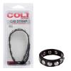 COLT 8 Snap Fastener Leather Strap