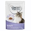 Concept for Life 12x85g Concept for Life Beauty nedves macskatáp aszpikban