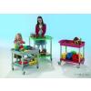Conen A mozgatható iskolai barkács-, játék,és építőkocsi (zöld)
