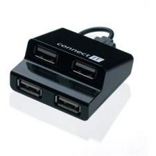 Connect IT Csatlakoztassa CI-108 lépés fekete hub és switch