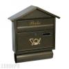 Corner újságtartós utcai postaláda (antik arany)